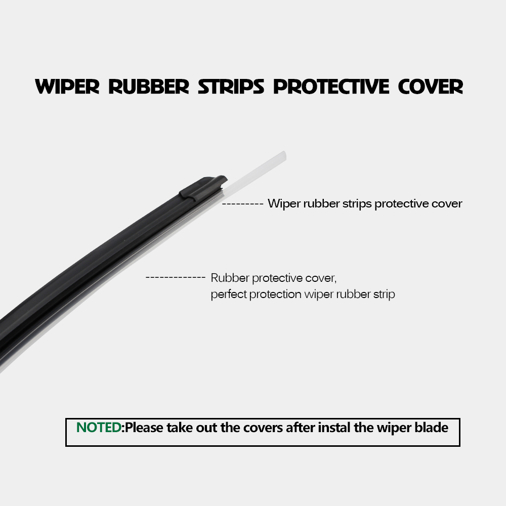 BEMOST Car Wiper Blade Natural Rubber For Toyota Corolla Wagon Hatchback Saloon Verso Fit Hook Arm Model Year From 2001 To 2014 in Windscreen Wipers from Automobiles Motorcycles