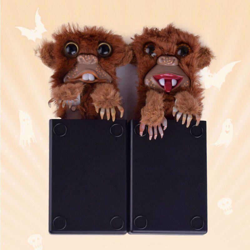 1PC New Spoof Funny Fur Monkey Jitters Tricky Toys Pop Up Surprise Prank Monster Child Boy Girl Party Practical Joke Innovative