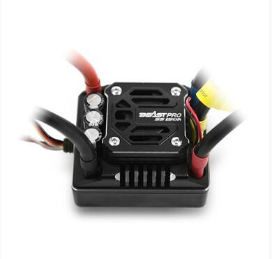 ZTW 1:8 Beast PRO SS150A 6V/7.4V adjustable 8A BEC Brushless ESC waterproof all aluminium heat sinking for truck and light car