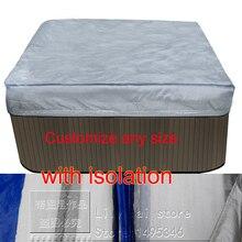 """Спа с откидной крышкой с изоляции хорошее для зимы, size2210x2320x300 мм 8"""" x 91"""". X 12 дюймов) можно настроить"""