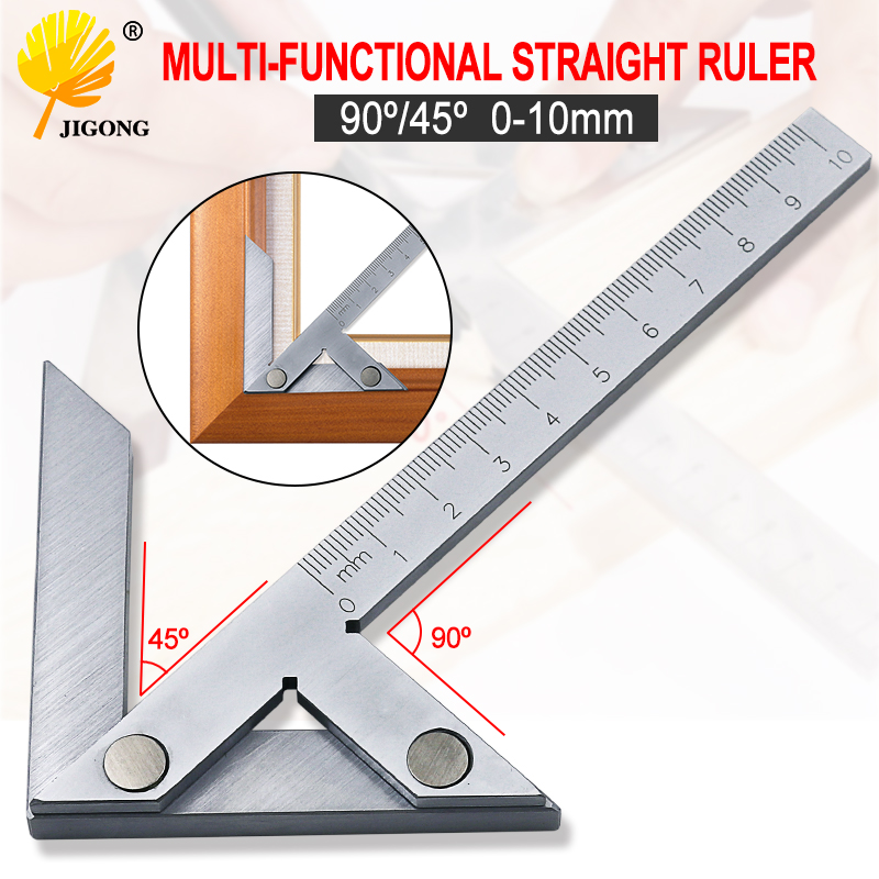 100*70mm Center Gauge Center Finding Marking Gauge Center Verier Caliper Protractor