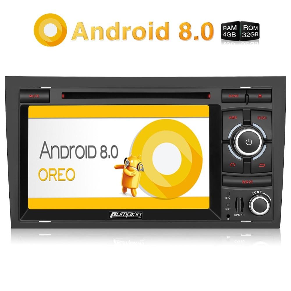 pumpkin 2 din 7 39 39 android 8 0 car multimedia dvd player. Black Bedroom Furniture Sets. Home Design Ideas