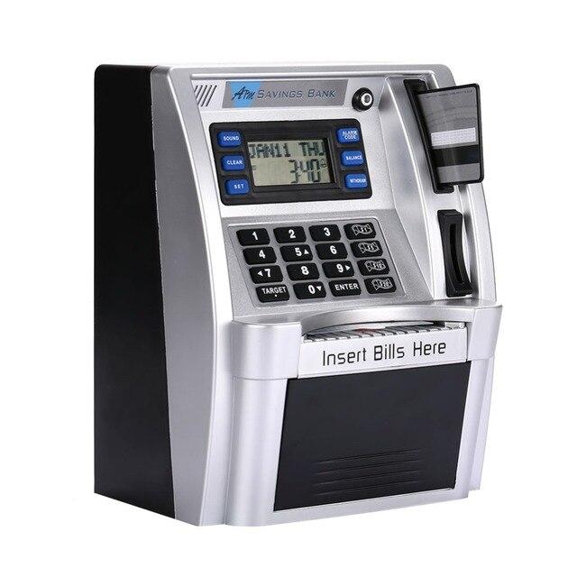 Simulación Banco de Ahorro ATM pantalla LCD para niños 1