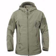 TAD Brand Jacket V5.0 Military Tactical Men Jacket Lurker Shark Skin Soft Shell Waterproof Windproof Men windbreaker Jacket Coat
