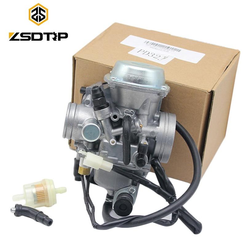 ZSDTRP 32MM PD32J Carburetor Assembly for 1988 2000 Honda ATC250 TRX300 TRX350 TRX400 TRX450 ATV 4X4