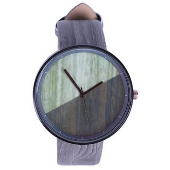 Luxury Imitation Wooden Watch Vintage Leather Quartz
