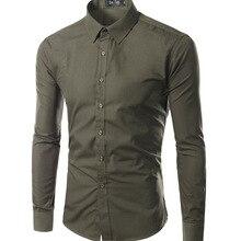 Chemise Homme Marque, весна, цветная рубашка с длинным рукавом, Camisa Masculina, тонкая офисная брендовая одежда