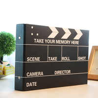 10 pouces bricolage Album Photo noir Photos de mariage enfants famille amoureux cadeau d'anniversaire collant Type mémoire disque Album d'album