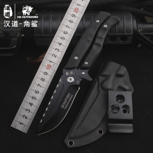 HX OUTDOORS survival knife  D2 blade multifunctional scissors dual-purpose high hardness knife hunting utility Knives hand tools