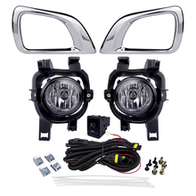 Auto Fog Light Assembly Car Styling for Nissan NP300 Navara 2016 4300K 12V 55W Halogen Bulb Super Bright Source Car Driving Lamp beler 2pcs right left fog light lamp with h11 halogen 55w bulb assembly for nissan cube juke murano infiniti ex35 ex37 qx50