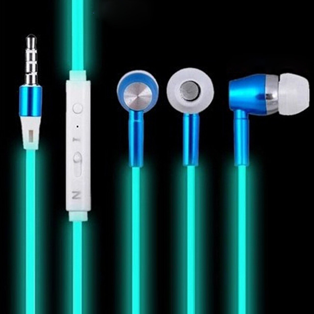 Luminous Isolating In-Ear Wired Earphones