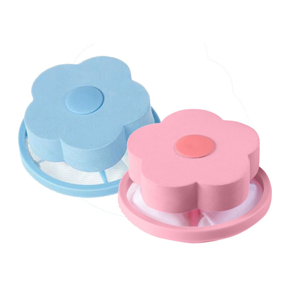 Washer Floating Pet Fur Catcher Laundry Lint Hair Remover Filter Bags Cleaner US