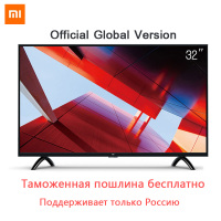 Xiaomi Smart 4A 32 дюйм(ов)) 1366x768 светодио дный LED телевидения ТВ комплект Ultimate PatchWall HDMI Wi Fi Ultra thin1GB 4 ГБ игры дисплей