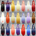 100Cm Long Staight Cosplay Wig Heat Resistant Synthetic Hair Anime Party wigs