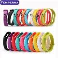 100% original colorido silicone wrist band pulseira wrist strap substituição para miband xiaomi 2 xiaomi mi banda 2 substituir correia