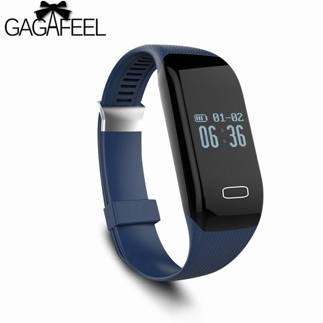 Moda das mulheres dos homens de fitness rastreador smart watch para ios iphone android samsung smart pulseira pedômetro smartwatch