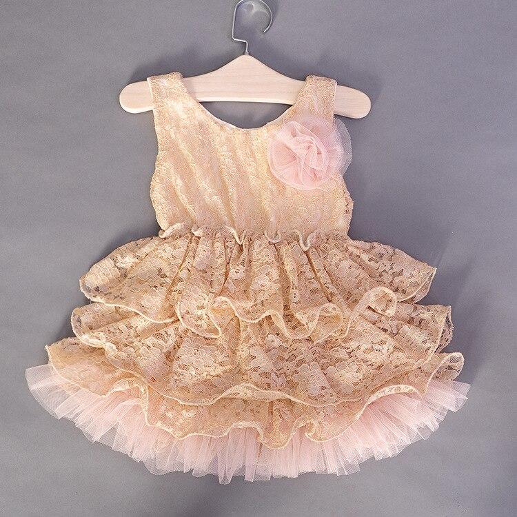Детские вязане бальные платья