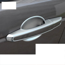 цена на lsrtw2017 abs car door bowl chrome door handle trims for range rover evoque 2011 2012 2013 2014 2015 2016 2017 2018 2019