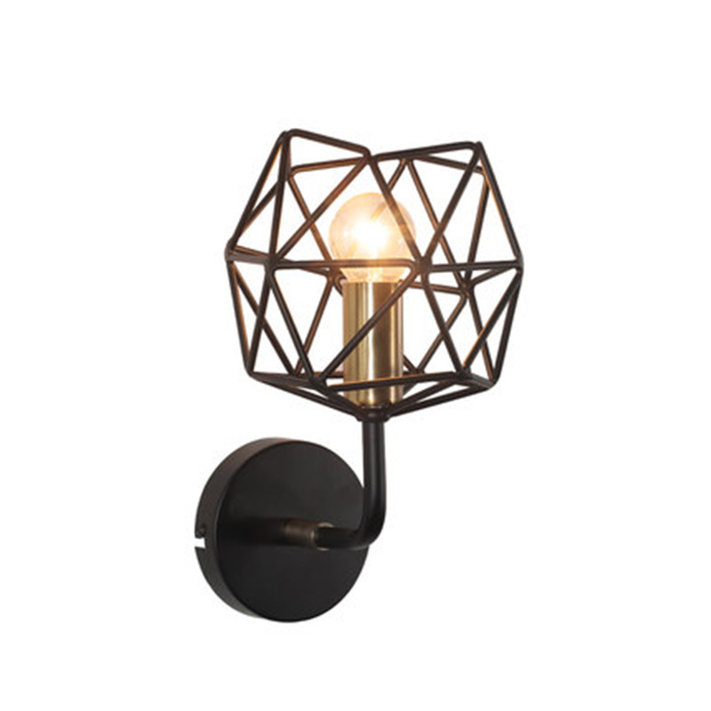 Nordic Loft Style Iron Vintage LED Wall Light For Home Antique Industrial Wall Lamp Sconce Home Indoor Lighting Lampara nordic loft style iron net edison wall sconce industrial lamp vintage wall light for home antique indoor lighting lampara pared