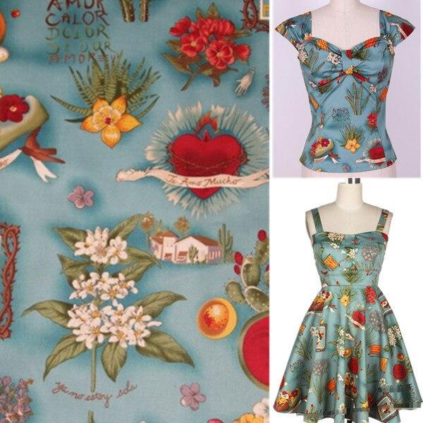 Popular Vintage Dress Fabrics-Buy Cheap Vintage Dress Fabrics lots ...