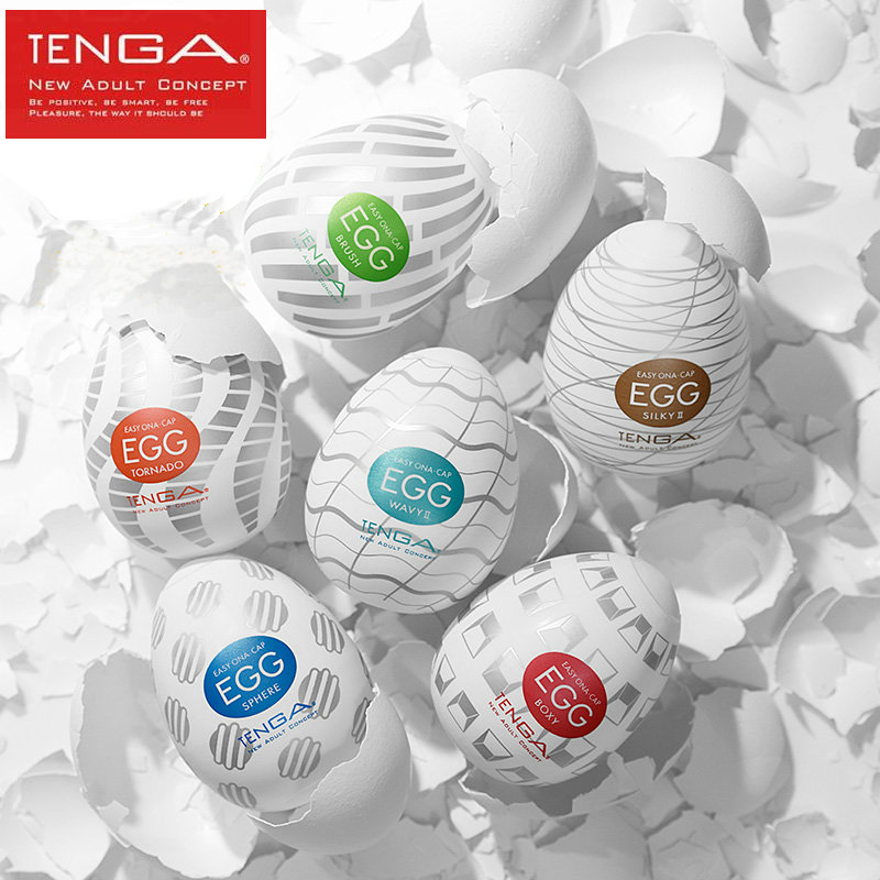 TENGA EGG New Standard Male Masturbator Japan Original Silicone Egg <font><b>Pussy</b></font> Sex ToysFor Men Masturbatings Penis Training <font><b>Sextoy</b></font> image