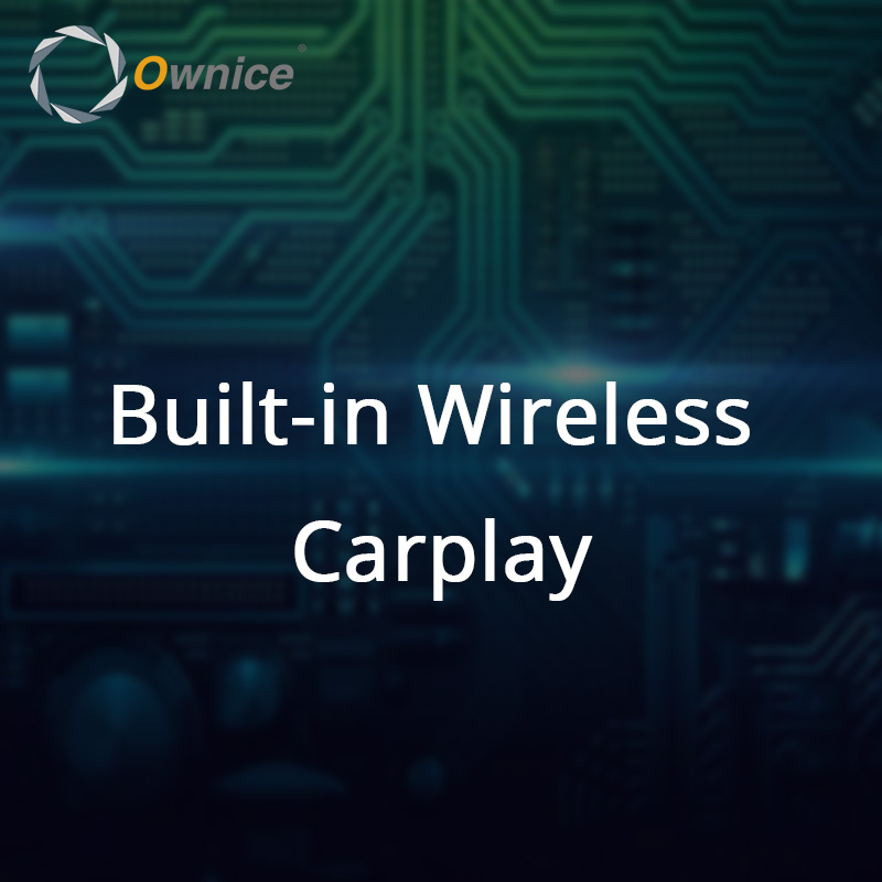 Built-in Wireless Carplay only for Ownice K3 K6 Series  don t Sell Separetely for K5 Series is the wired need connect the USB