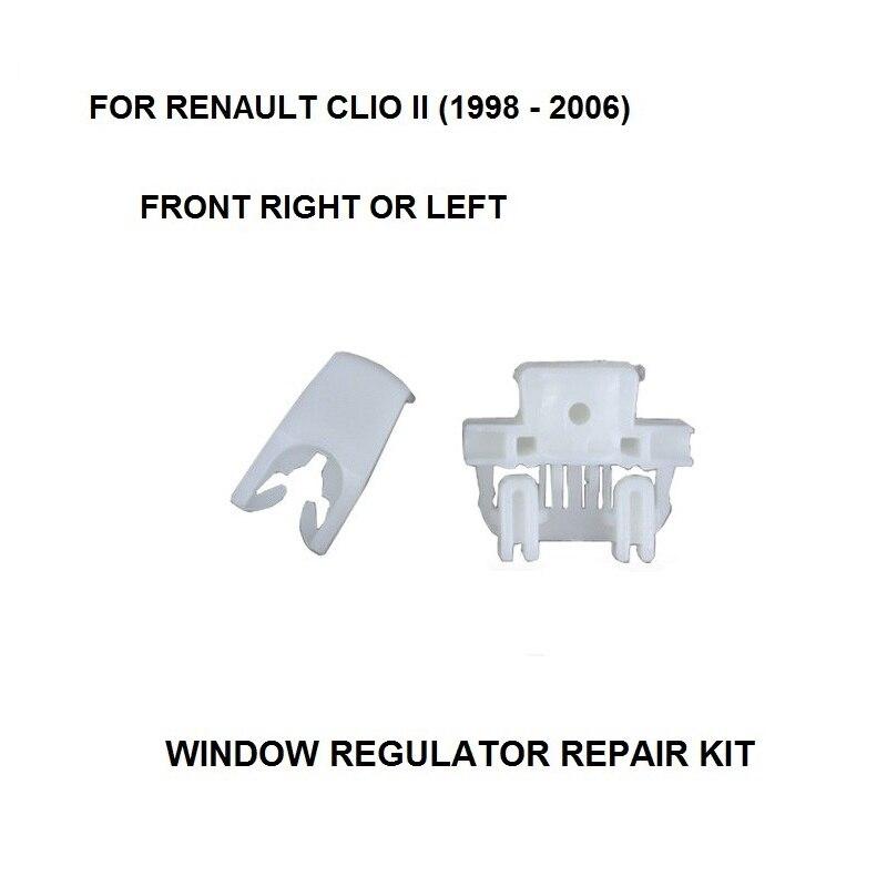 Fensterheber Reparatursatz für Renault Clio II 2 vorne rechts 4//5 türig NEU