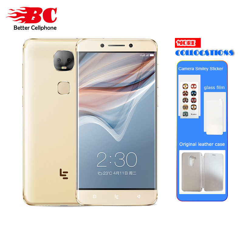 New Letv Leeco Le Pro 3 X651 Dual AI Camera Mobile Phone Android 6.0 4G FDD-LTE Helio X23 Ten core 5.5 Inch 4G+32G 13MP 4000mAh