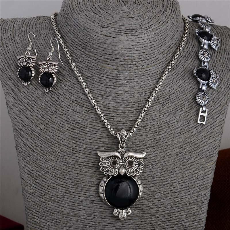 Aliexpress.com : Buy SHUANGR Fashion Vintage Black Owl