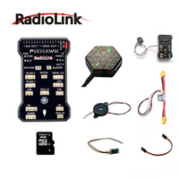 Radiolink PIXHAWK Flight Control With M8N GPS Supported By AT9\AT10 II Buzzer 4G SD Card Ultrasonic Sensor Su04 Free shipping