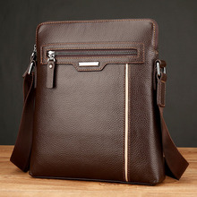 купить New luxury Brand Briefcase Handbags Style Fashion Men's PU Leather Messenger Bags Cross Body Casual Flap Shoulder Bag по цене 1977.24 рублей
