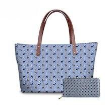 NOISYDESIGNS Bags for Women Great Dane Printing Handbags&Wallet Ladies Lunxury Design Hand Bag Females Top-Handle Bolsa