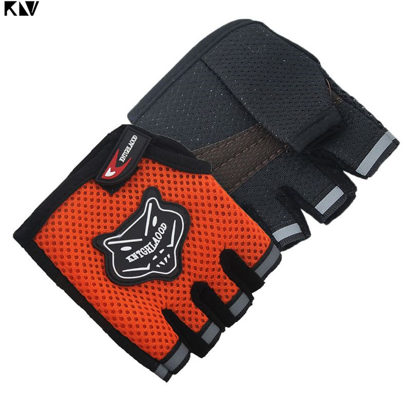 ADULT// KIDS BOYS GIRLS PADDED CYCLING BIKE CYCLE BICYCLE BMX GLOVES HOT NEW