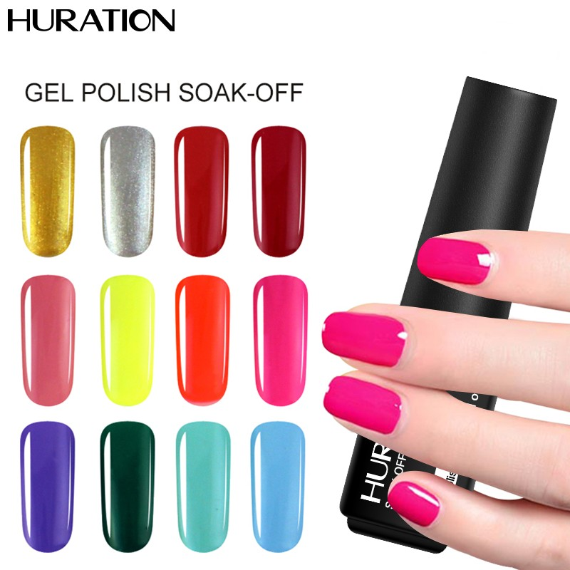 Gel Nail Polish For Sale: Huration Hot Sale 7ML Nails Hybrid 29 Colors Manicure Gel