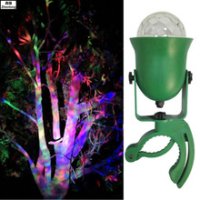 цена на Garden Light Romantic Color Changing Firefly Effect Tree Lights IP65 Waterproof LED Light Outdoor Projector Christmas Magic Ball