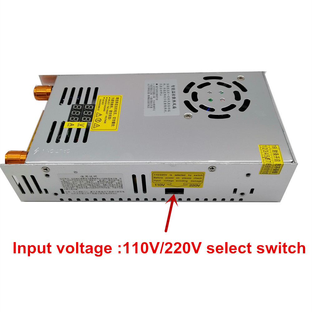 480W Adjustable Switching power supply with Digital display power supply for LED DC 12V 5V 24V 36V 48V 60V 80V 120V 160v 220V-3