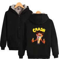 Two Step Satellite 1985 Hoodies With Zipper Men Women Casual Clothing Many Russia Style Thick Warm