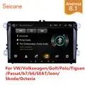 Seicane 2Din Android 8.1 Auto Multimedia Speler Voor Vw/Volkswagen/Golf/Polo/Tiguan/Passat/ b7/B6/Seat/Leon/Skoda/Octavia Radio Gps