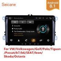 Seicane 2Din Android Car Multimedia player For VW/Volkswagen/Golf/Polo/Tiguan/Passat/b7/b6/SEAT/leon/Skoda/Octavia Radio GPS