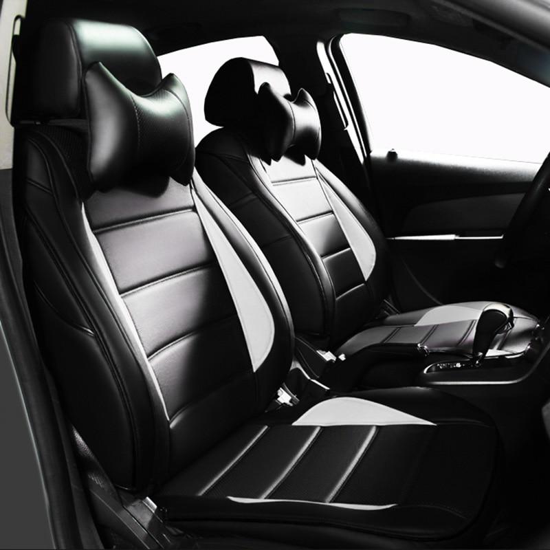 Custom leather Car Seat cover For Mercedes Benz C180 C200 C200 CGI C200K C220 C250 C280