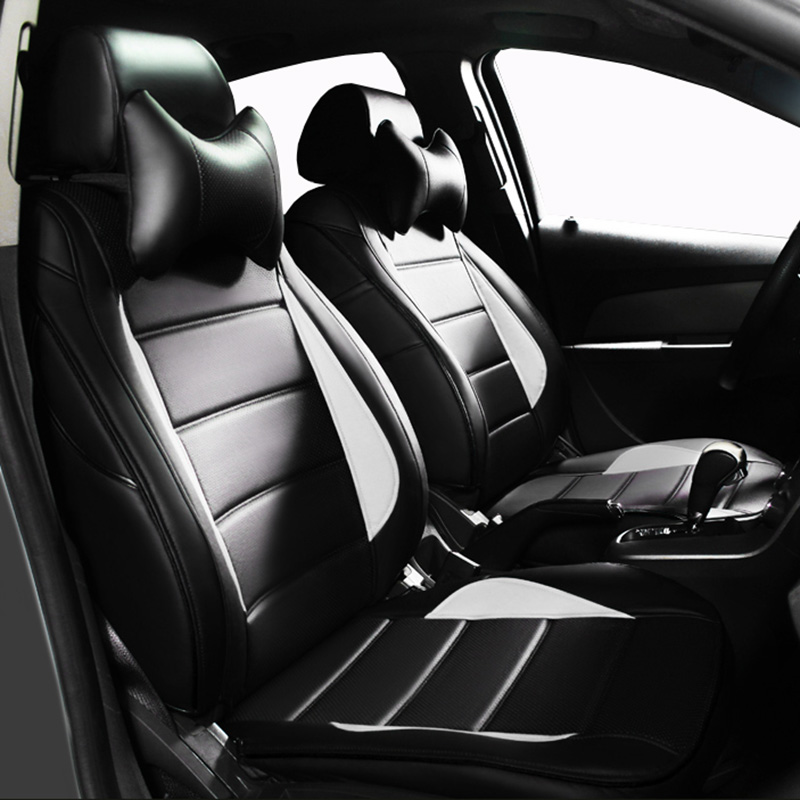 Custom leather Car Seat cover For Mercedes Benz C180/C200/C200  CGI/C200K/C220/C250/C280/C300/C350/C450/B class car styling