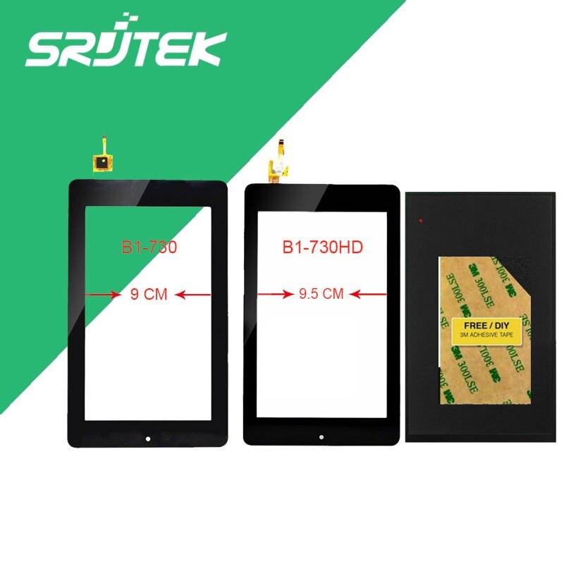 все цены на  For Acer Iconia One 7 B1-730HD A1402 LCD Display Panel Screen Monitor + Touch Screen Digitizer Sensor Glass 100% Test  онлайн