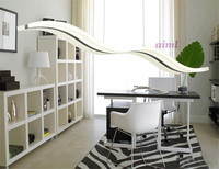 LED de alta qualidade Modern Lustres 35 W branco acrílico para sala de jantar quarto luzes do candelabro 110 V 220 V lampadario 98 cm