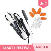Professional Hair Extension Connector L 618 Adjustable Hair Extension Fusion Iron Tool For U/V/Flat Tip Human Hair Extensions