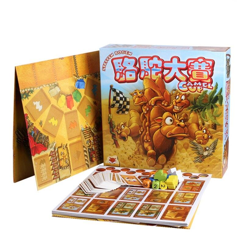 Jeu de société Camel Up 2-8 joueurs famille/fête meilleur cadeau pour enfants jeu d'investissement de stratégie