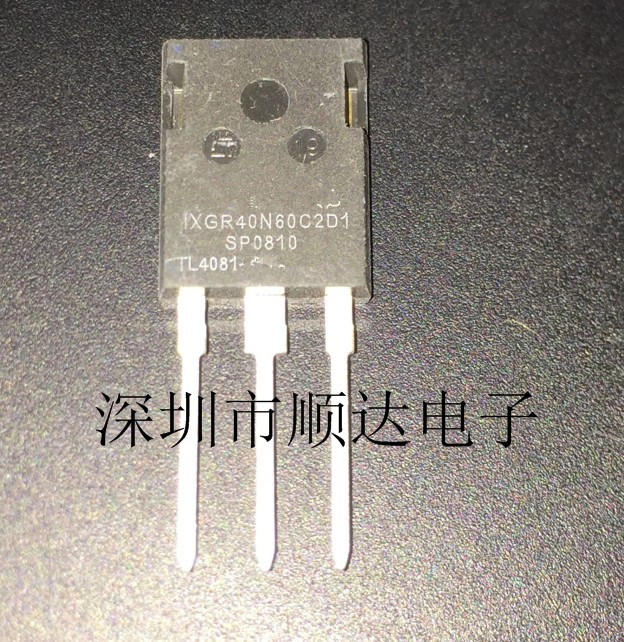 10pcs/lot IXGR40N60C2D1 IXGR40N60 40N60C2D1 TO-3P In Stock