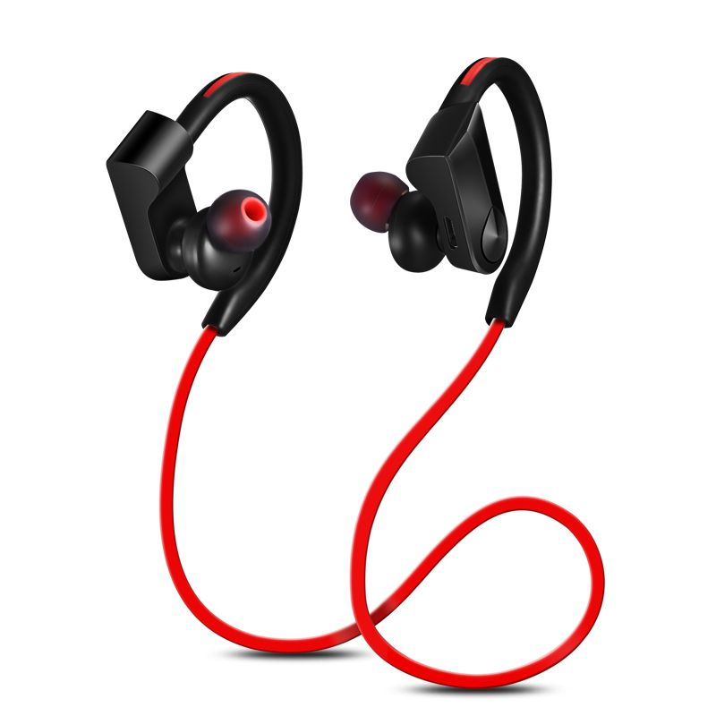 GDLYL Sport Bluetooth Headphones Earphone sweatproof Wireless Stereo Ear Hook Headset with Microphone Universal Headphone