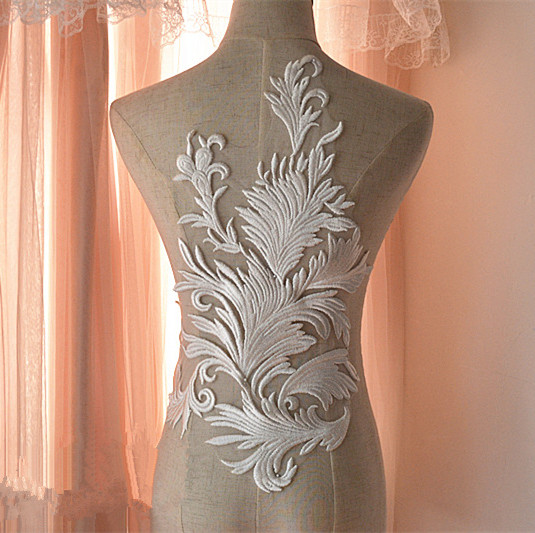 Diy Wedding Gowns: Aliexpress.com : Buy Lace European Style Dress Patch Chest