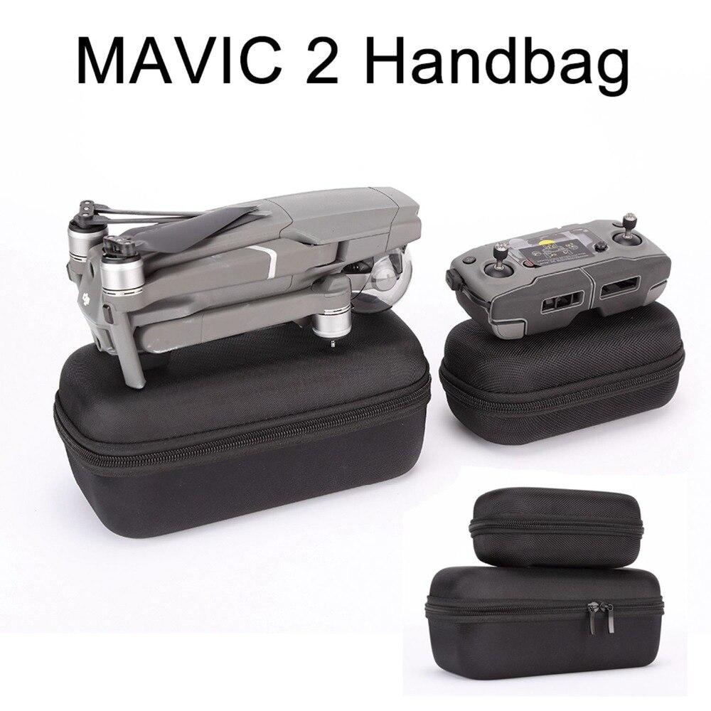 DJI Mavic 2 Case Bag Portable Handbag Carrying Box Storage Bag for DJI Mavic 2 Pro Zoom Drone Remote Controller Portable Case drone x pro
