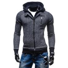 ZOGAA 2018 New Fashion Men Hoodie Jacket for Autumn and Winter Zipper Turn Down Collar Sweatshirts Streetwear Clothes